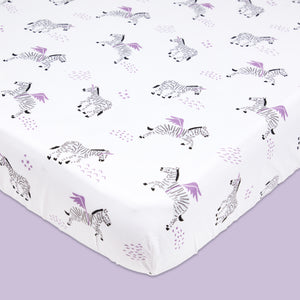 Organic Cotton Fitted Cot Sheet – Never Stop Dreaming