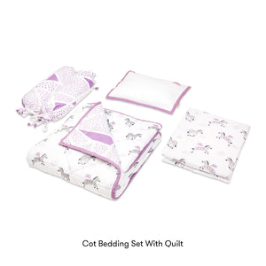 Cot Bedding Set – Never Stop Dreaming