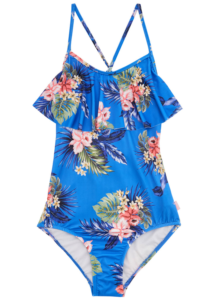 Seafolly girls swimsuit - hawaii floral