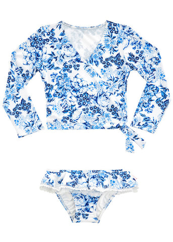 Seafolly UV two piece suit - hawaii jungle