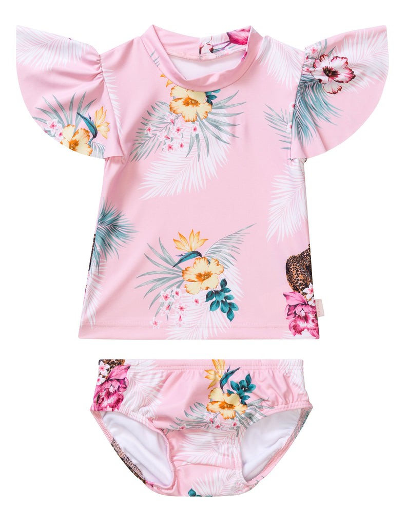 Seafolly baby sets - tropical pink