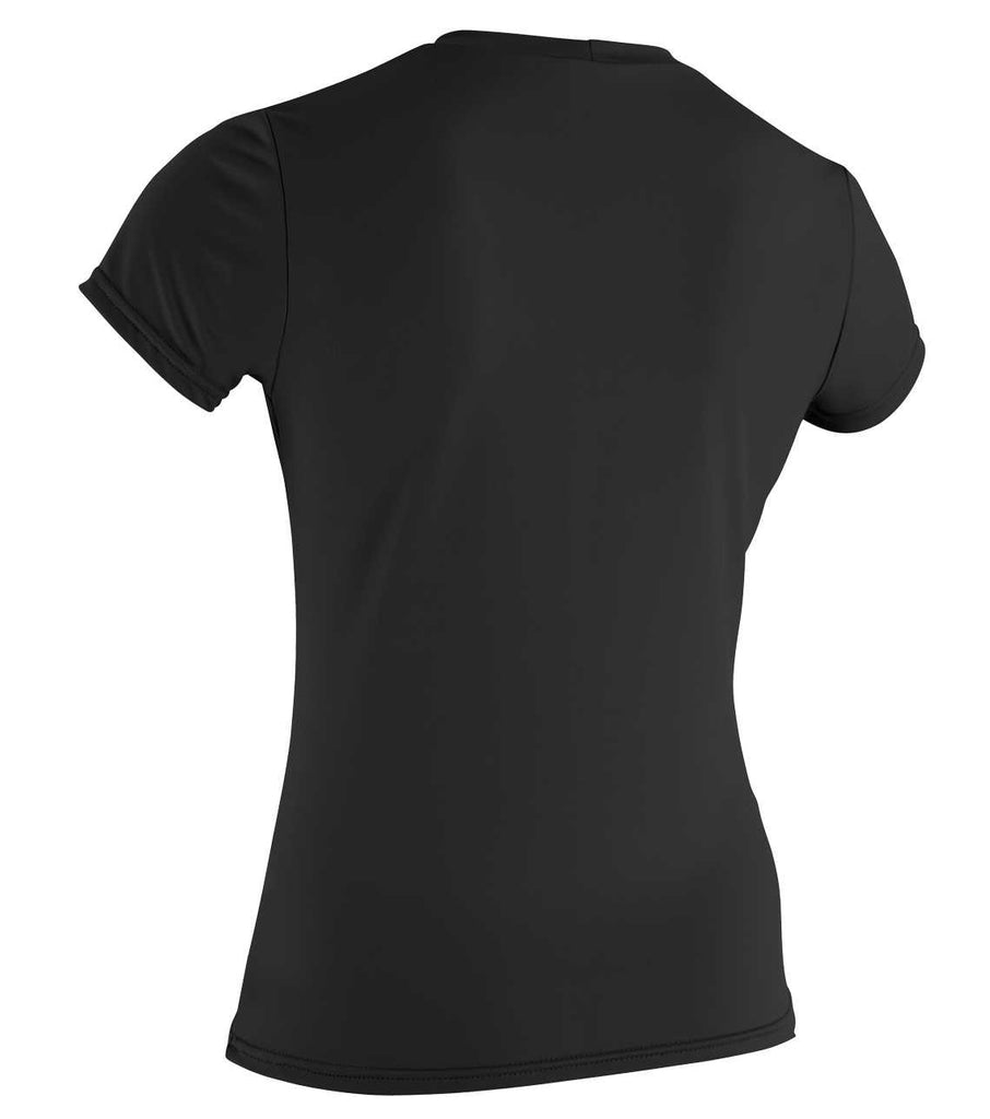 O'Neill womens rash top - black