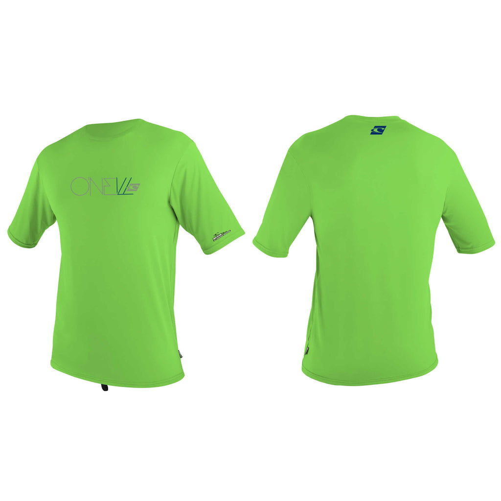O'Neill youth rash top -  green