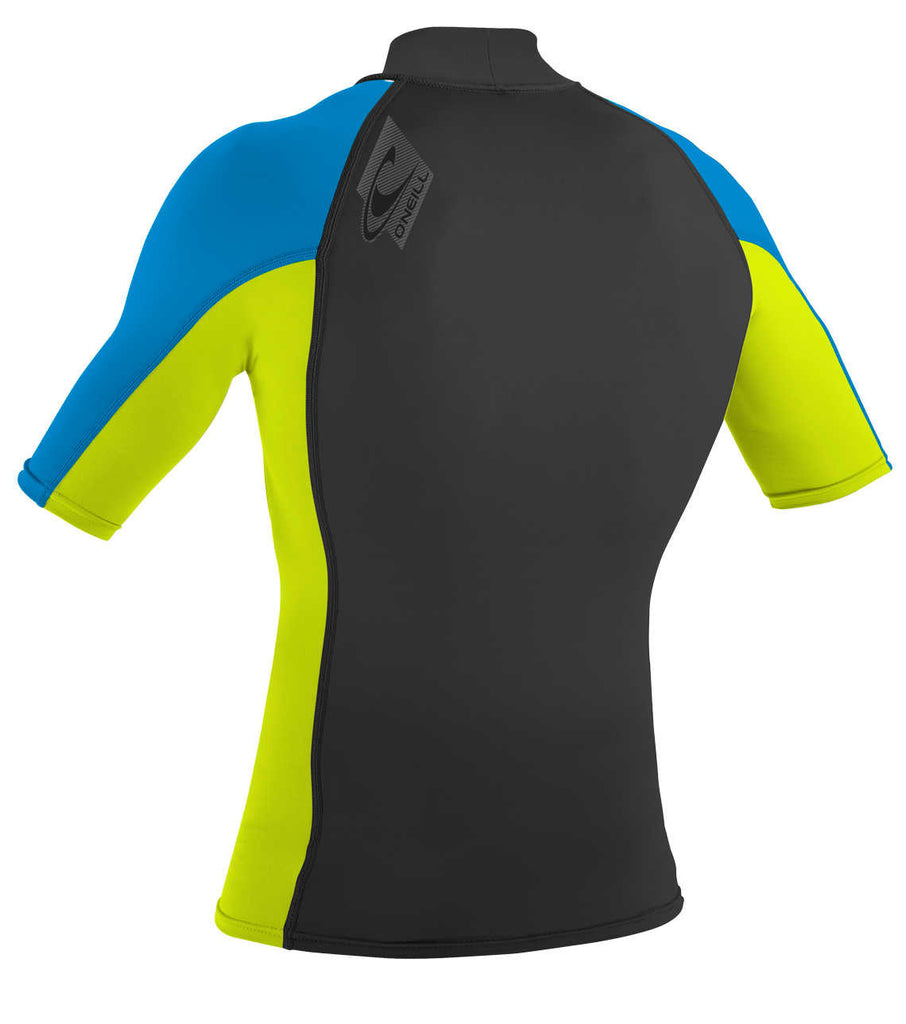 O'Neill youth rash top  - lime blue