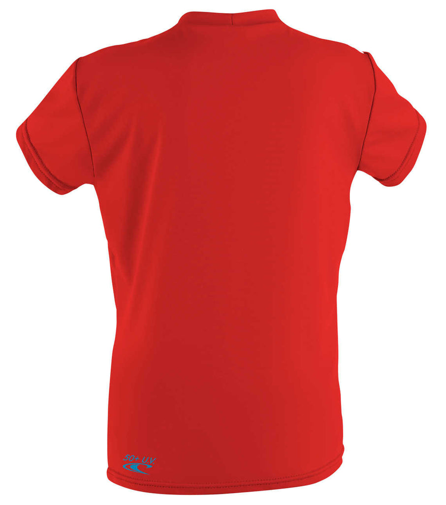 O'Neill toddler rash top -  surf red