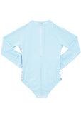 Seafolly UV sunsuit - bluebird