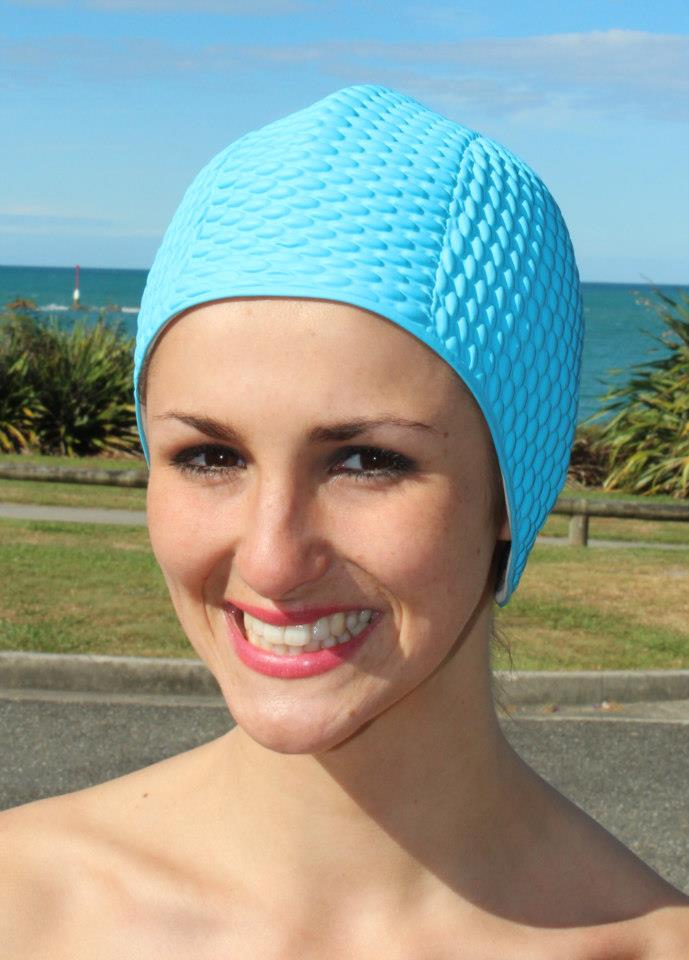 Fashy swimming cap - bubble turquoise