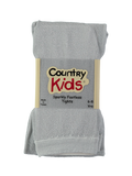 Country Kids sparkly tights - silver