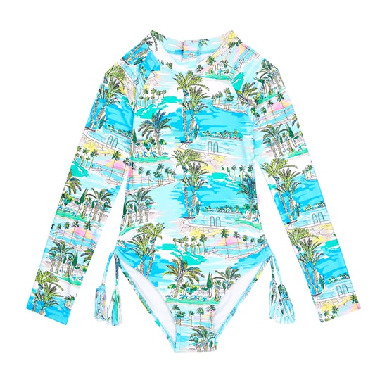Seafolly UV sunsuit - miami vice