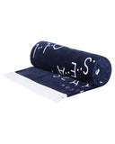 Seafolly towel - True Navy