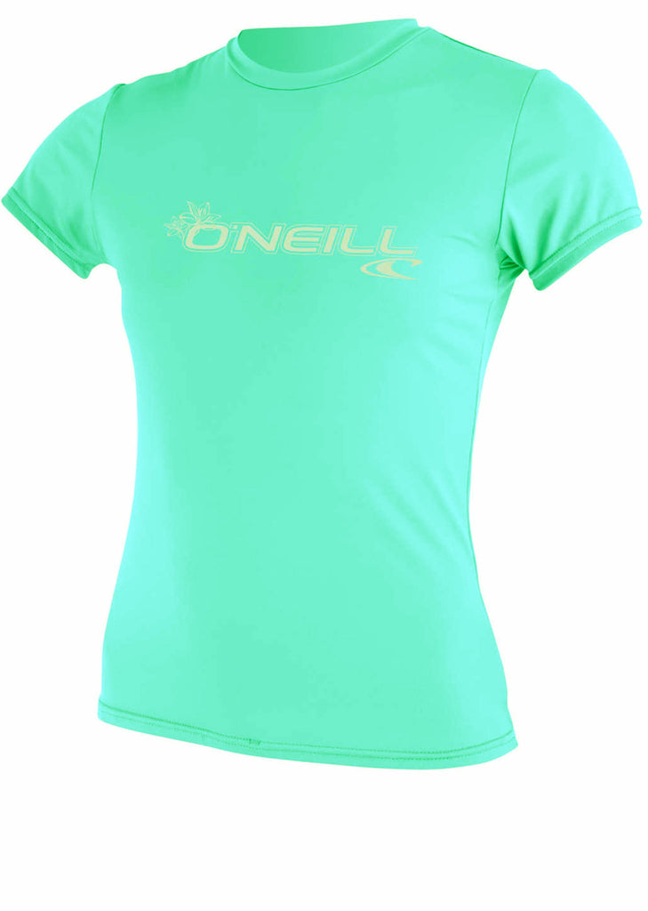 O'Neill womens rash top - seaglass