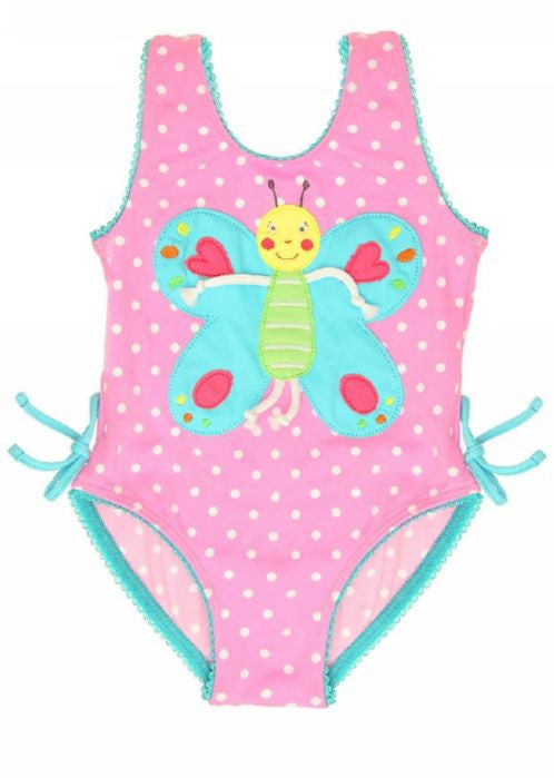 Boboli baby swimsuit - raspberry