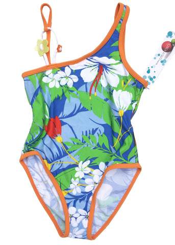 Seafolly girls swimsuit - china blue