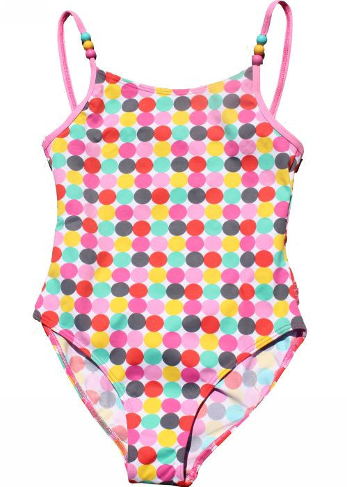Boboli girls swimsuits - pink spots