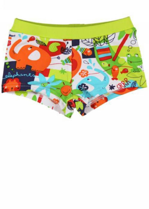Boboli boys swim trunks - animals