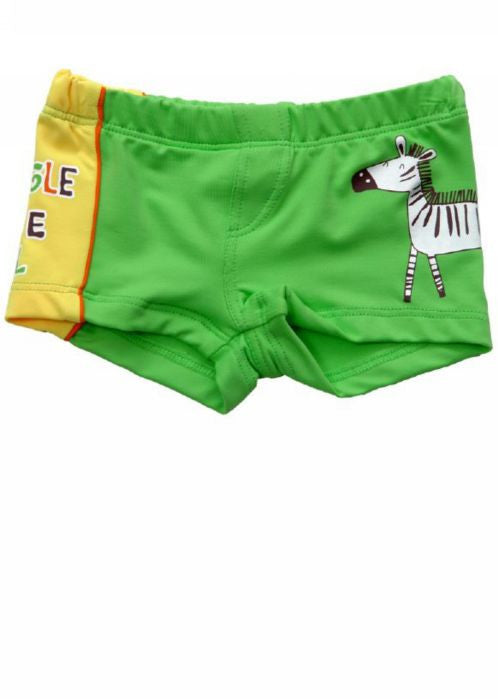 Boboli boys swim trunks - zebra