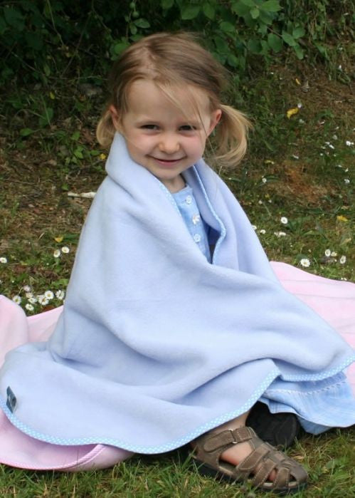 Buggysnuggle blankets - pale blue