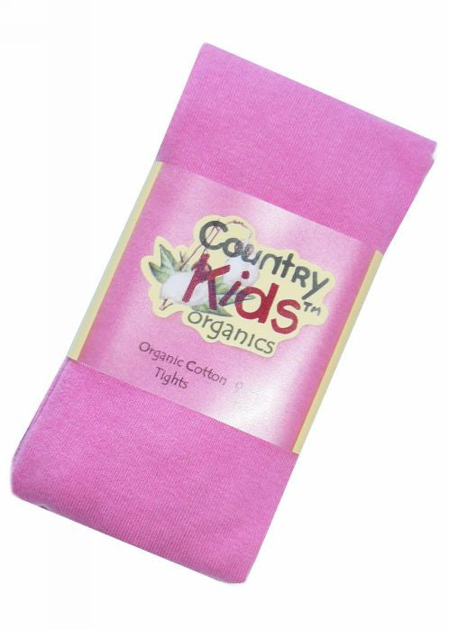Country Kids organic tights - bubblegum