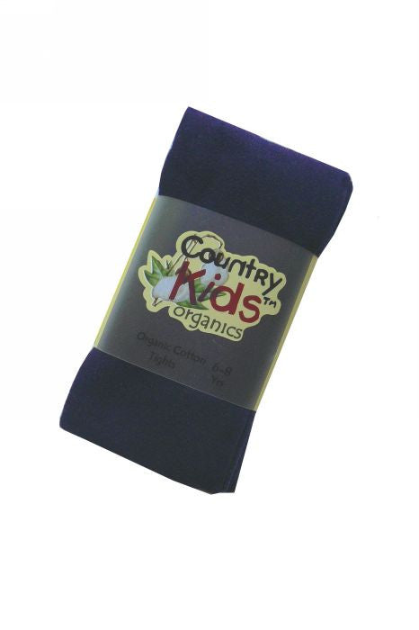 Country Kids organic tights - navy