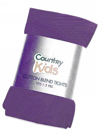 Country Kids lace tights - black