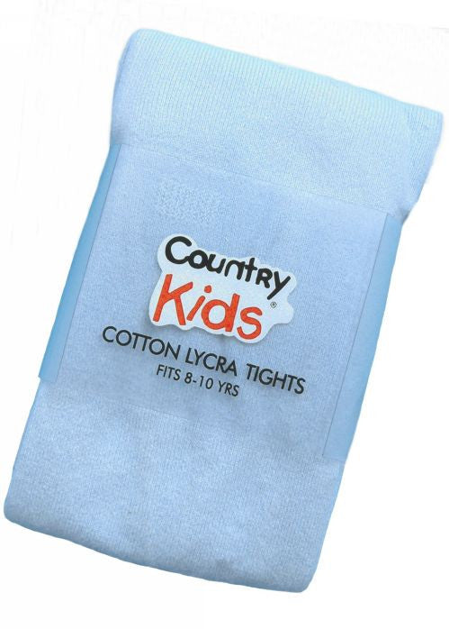 Country Kids tights - pale blue