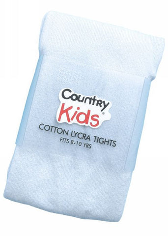 Country Kids tights - denim lollipop stripe