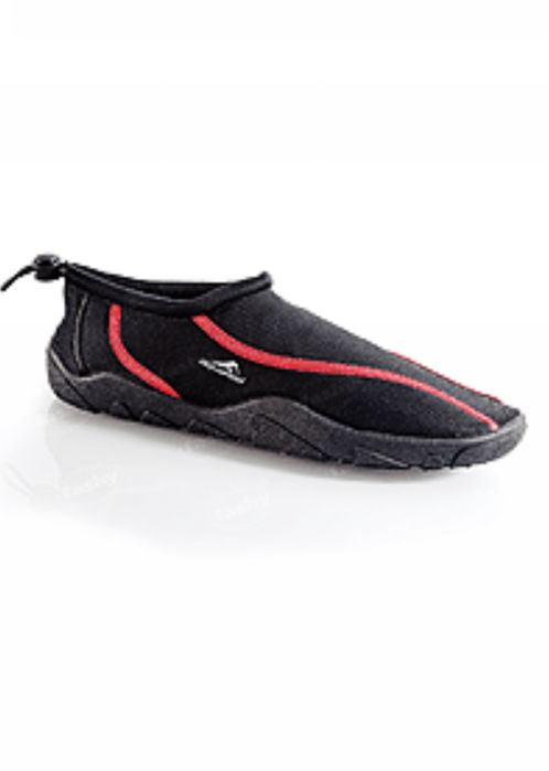 Fashy adult beachshoes - black/red