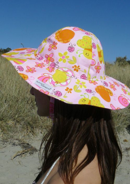 Flap Happy sun hats - bees