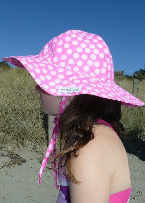 Flap Happy sun hats - pink