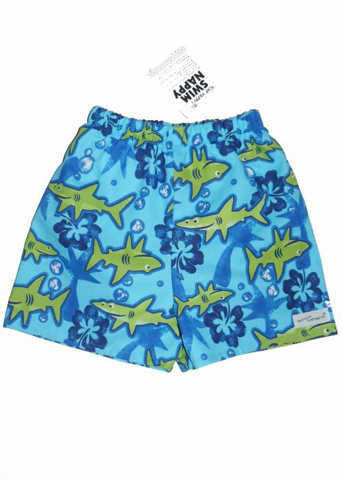 Flap Happy swim nappy - lagoon