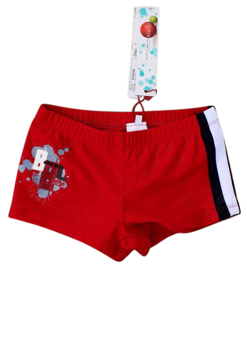 Boboli boys swim trunks - red/black