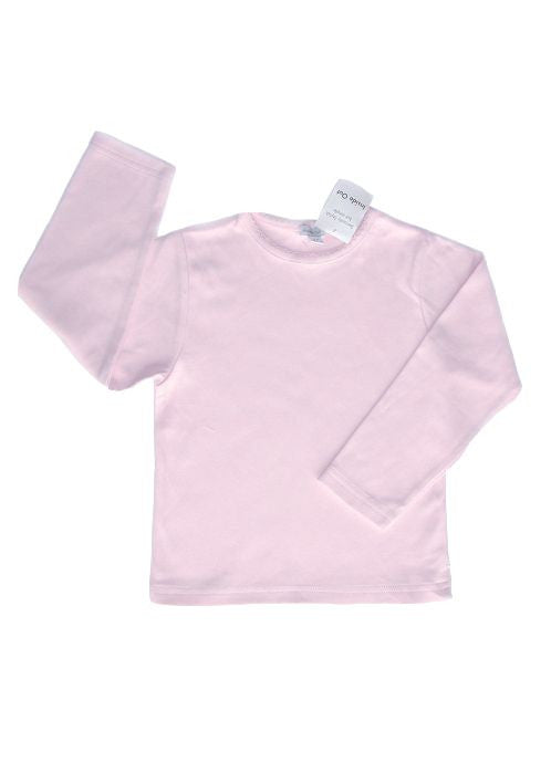Inside Out crew neck top - pale pink