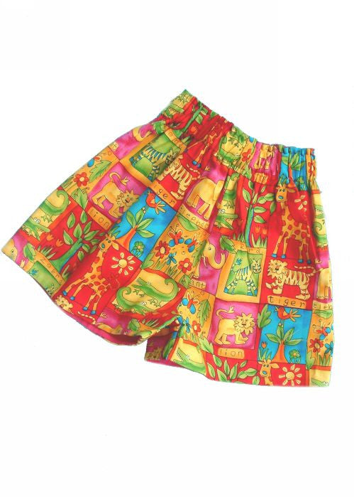 Kids Kaper girls shorts - jungle