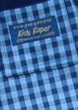 Kids Kaper boys shorts - navy check