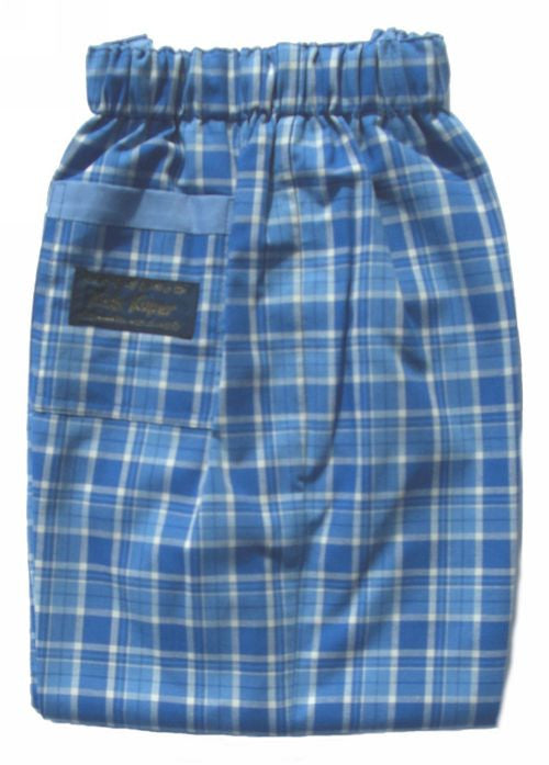 Kids Kaper summer trousers - sky check