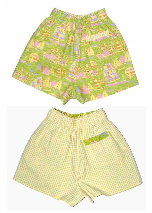 Kids Kaper girls shorts - spring