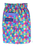 Kids Kaper girls trousers - multi check
