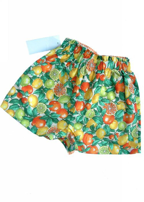 Kids Kaper girls shorts - oranges
