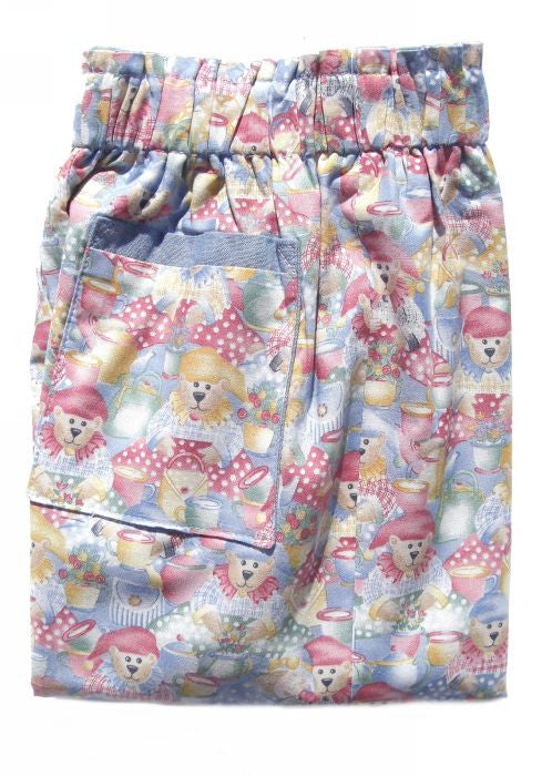 Kids Kaper summer trousers - pale blue teddy