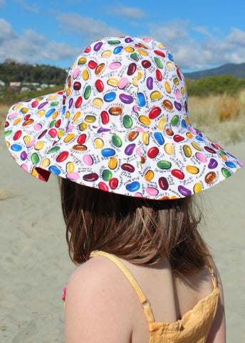 Sposh sun hats - strawberry
