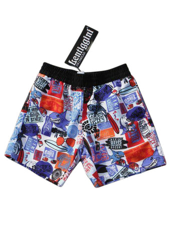 Boboli boys swim trunks - aqua