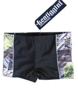 Lentiggini boys swimshorts - black