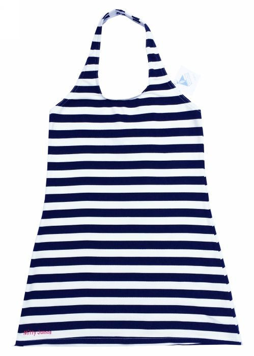Mitty James girls dresses - navy/white