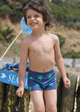 Mitty James boys swimshorts - navy/green