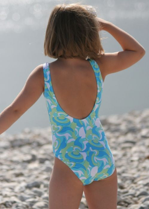 Mitty James swimsuits - blue retro