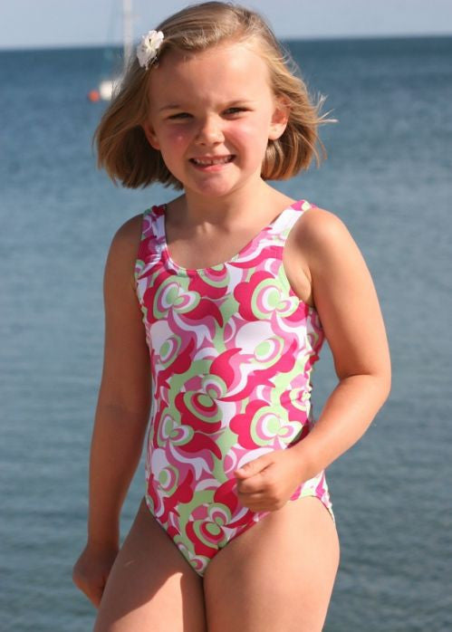 Mitty James swimsuits - pink retro