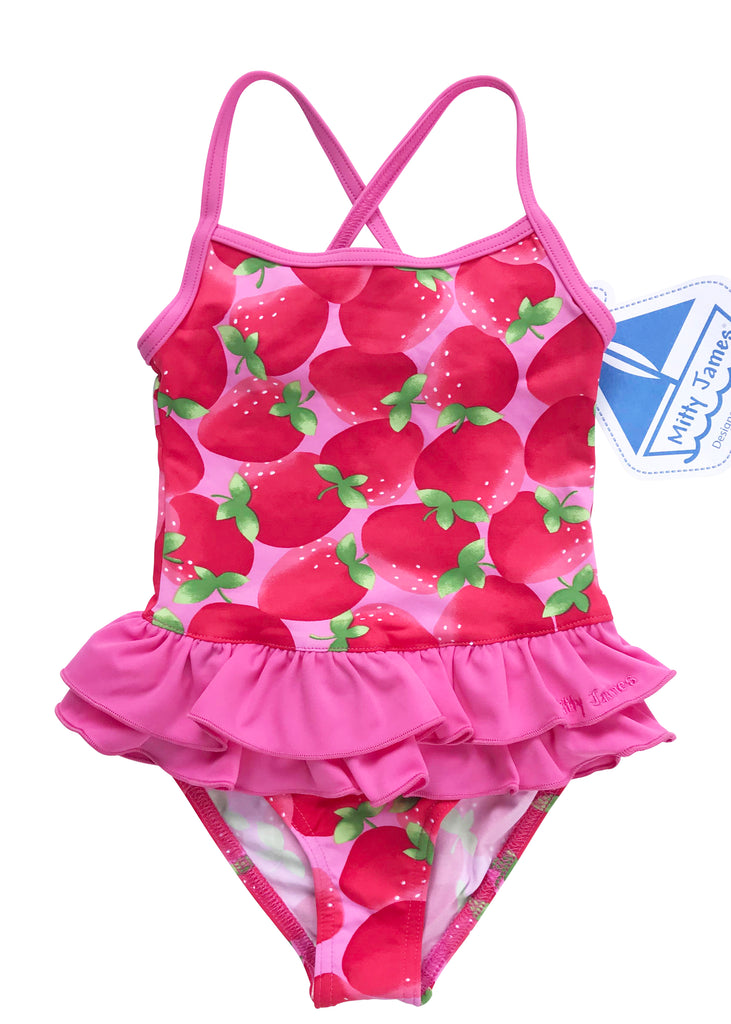 Mitty James swimsuits - strawberry