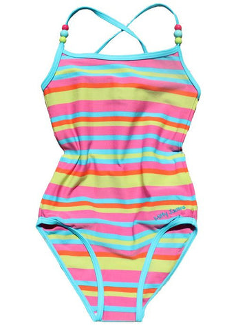 Seafolly girls swimsuit - bluebird