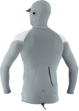 O'Neill mens rash - Ozone cool grey hooded medium