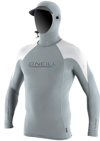 O'Neill mens rash top - slate white